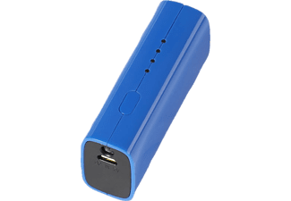 VIVANCO 33897 Powerbank, 2600 mAh, Blau