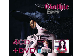 VARIOUS - Gothic Compilation 56+57 [CD]