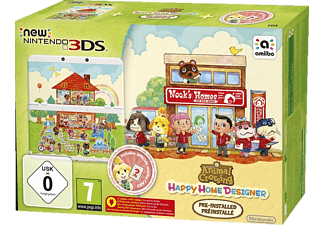 NINTENDO New Nintendo 3DS +  Animal Crossing: Happy Home Designer Pack