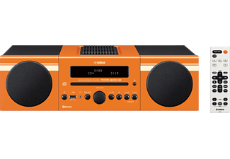 YAMAHA MCR-B043, Micro Anlage, 30 Watt, Orange