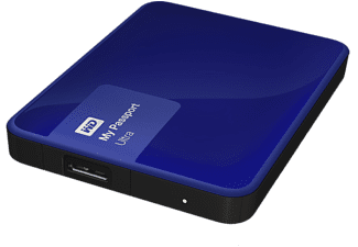 WD My Passport Ultra II Exclusive 1TB - Blå