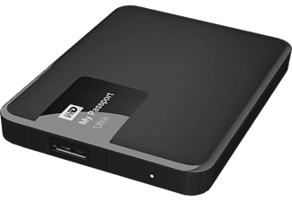 WD My Passport Ultra II Exclusive 1TB - Svart