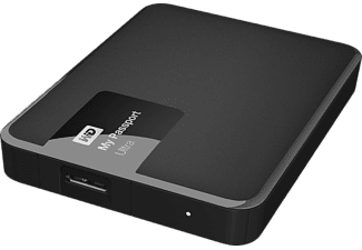 WD My Passport Ultra II 2TB - Svart