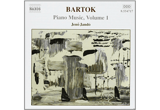Jeno Jando - Bartok - Piano Music, Volume 1 - (CD)