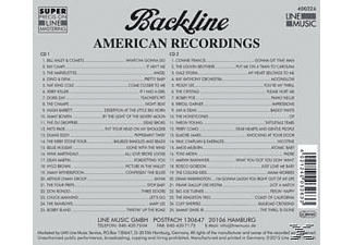 Various - Backline Vol.326 - (CD)