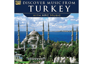 VARIOUS - Discover Music From Turkey-With Arc Music [CD]