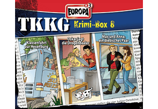 TKKG Krimi Box 08 - (CD)