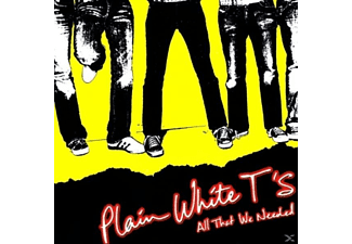 Plain White T's - All That We Needed - (CD)