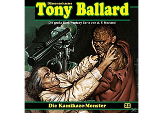 Tony Ballard 21-Die Kamikaze-Monster - 1 CD - Horror