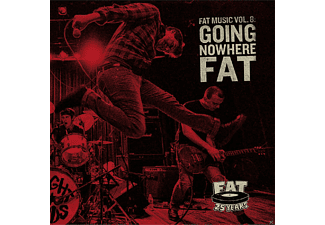 VARIOUS - FAT MUSIC 8 - GOING NOWHERE FAT - (CD)