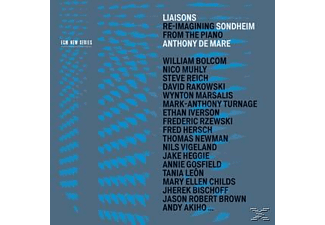 Anthony De Mare, Various - Liaisons - Re-Imagining Sondheim from the Piano - (CD)