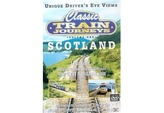 Classic train Jpurneys: Scotland & the Highlands - (DVD)