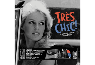 VARIOUS - Tres Chic. Golden Age Of French Cool (Musicbook) - (CD + Buch)