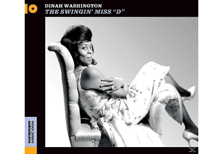 "Dinah Washington - The Swingin' Miss ""d"" - (CD)"