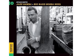 Stan Getz - Jazz Samba + Big Band Bossa Nova - (CD)