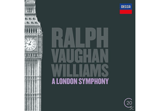 Roger Norrington, Alvario London Philharmonic Orchestra - A London Symphony/Tallis Fantasia [CD]
