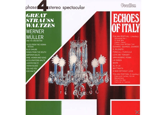 Werner Müller - Echoes of Italy/Great Strauss - (CD)