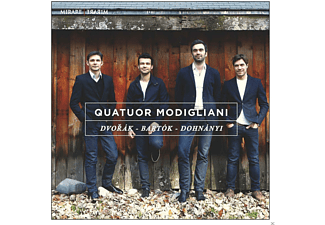 Quatuor Modigliani - Quators - (CD)