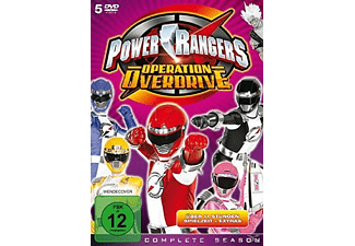 Power Rangers Operation Overdrive Complete - (DVD)