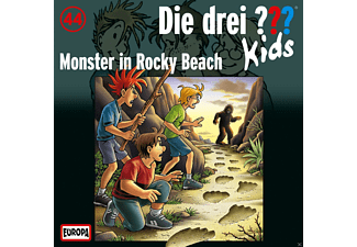 Die Drei ??? Kids - Die drei ??? Kids 44: Monster in Rocky Beach - (CD)