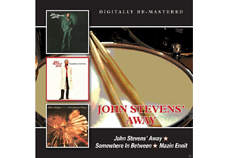 John Stevens - John Steven's Away/Somewhere In Between/Mazin - (CD)