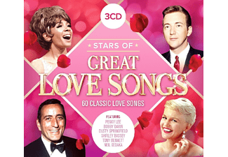 VARIOUS - Stars Of Great Love Songs - (CD)
