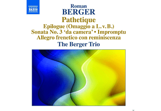 Berger Trio - Pathetique/Sonate 3/Impromptu/+ [CD]