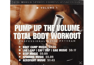 VARIOUS - Total Body Workout 1 - Pump Up The Volume - (CD)