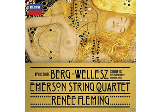 Emerson String Quartet, Renée Fleming - Berg: Lyric Suite/Wellesz: Sonnets - (CD)