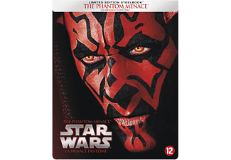 Star Wars I: The Phantom Menace (Steelbook) | Blu-ray