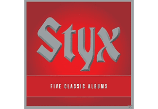 Styx - 5 Classic Albums - (CD)