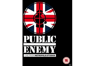Public Enemy - Live from Metropolis Studios - (Blu-ray)