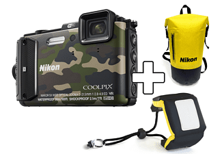 NIKON COOLPIX AW130 + Diving kit Camouflage