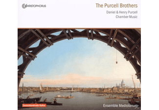 Ensemble Mediolanum - The Purcell Brothers - (CD)
