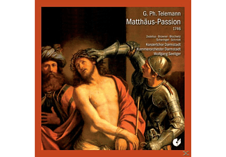 Browner - Matthäus-Passion 1746 - (CD)