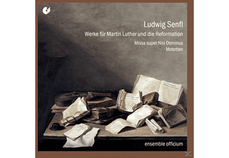 Wilfried/ensemble Officium Rombach - Werke Für Martin Luther Und Die Reformation - (CD)