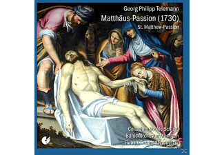 Frieberger & Collegium Vocale Schlägl - Georg Philipp Telemann: Matthäus-passion (1730) - (CD)