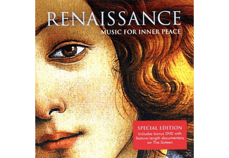 The Sixteen/Christophers*, Sixteen,The/Christophers,Harry - Renaissance-Music For Inner Peace - (CD + DVD Video)