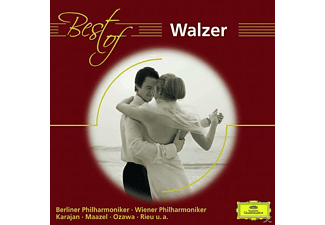 VARIOUS, Karajan/Chailly/Maazel/BP/WP/CGO/+ - BEST OF WALZER [CD]