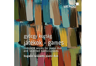Bugallo-williams Piano Duo - Jatekok-Games - (CD)