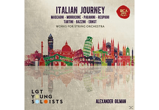 Lgt Young Soloists - Italian Journey - Works for string Orchestra - (CD)