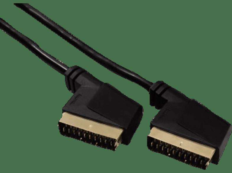 HAMA SCART CABLE 3.0M 1S - (123210) τηλεόραση   ψυχαγωγία μην ξεχάσεις καλώδια ήχου  εικόνας