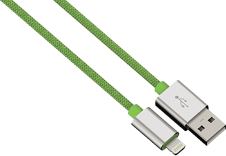 HAMA Color Line, USB Kabel, Grün