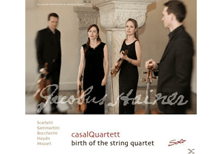 Casal Quartett, Casalquartett - Birth Of The String Quartet - (CD)