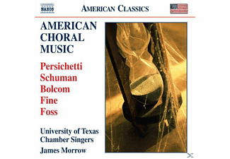 James & University Of Texas Morrow, Morrow/University Of Texas - Amerikanische Chormusik - (CD)