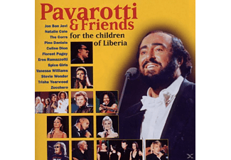 Eros Ramazzotti, Luciano Pavarotti, Spice Girls, VARIOUS, Dion, Jovi, Pavarotti/Dion/Ramazzotti/Spice Girls/Jovi/+ - Pavarotti & Friends For The Children Of Liberia - (CD)