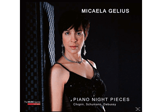 Micaela Gelius - Piano Night Pieces [CD]