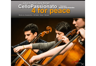 Berger,Julius/Berger,Hyun-Jung - Cellopassionato-4 For Peace - (CD)