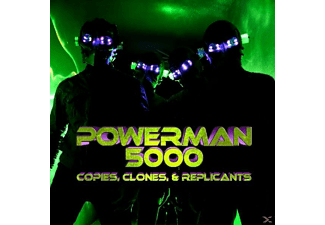 Powerman 5000 - Copies,Clones & Replicants - (CD)