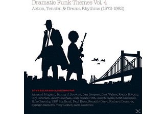 VARIOUS - Dramatic Funk Themes # 4 - (CD)